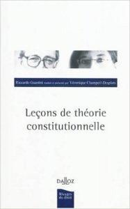 Lecons de théorie constitutionnelle
